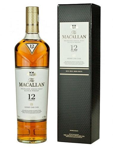Macallan 12 Years Sherry Oak Cask 700 ml