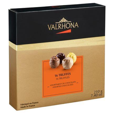 Valrhona 16 Truffles