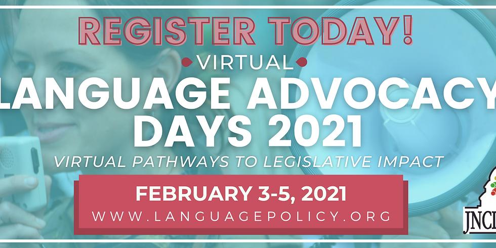 Virtual Language Advocacy Days 2021