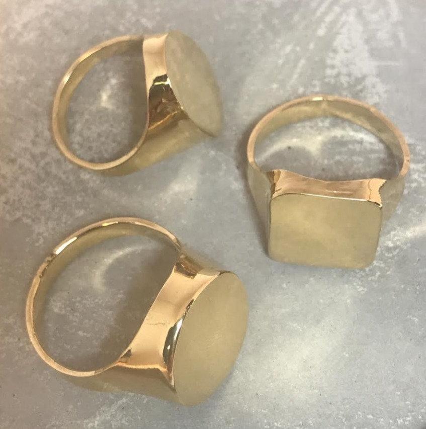 הכנת טבעת חותם