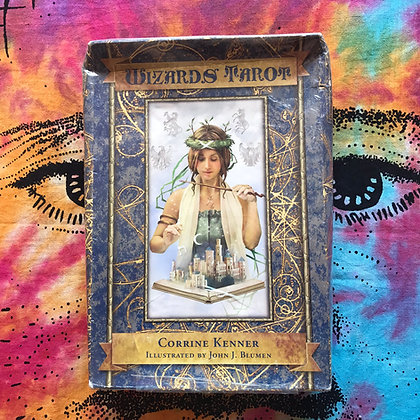 Wizard's Tarot - Boxed Set (NEW/Sealed)