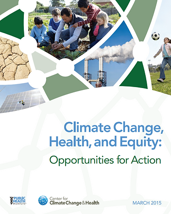 Climate Change, Heralth and Equity report