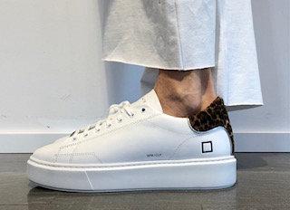 Sneakers D.A.T.E. mod. SFERA LEOPARD