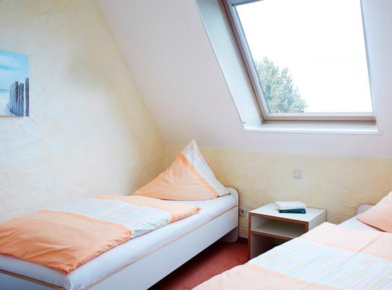Elternschlafzimmer mit Ostseeblick
