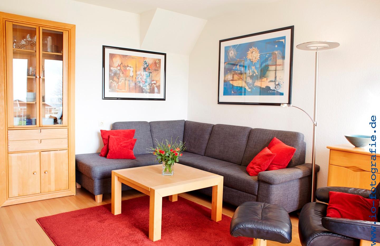 Wohnzimmer Apartment B4