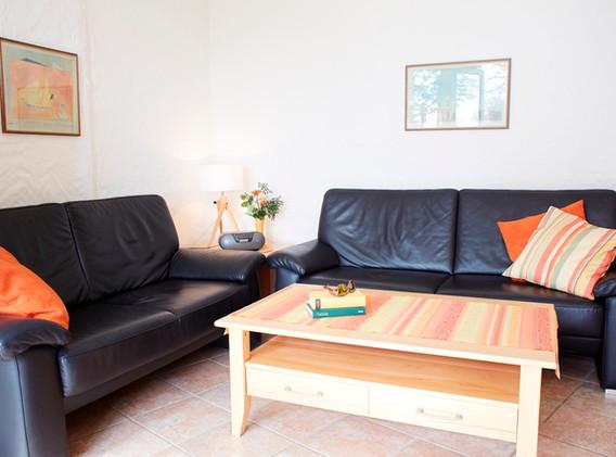 Wohnzimmer im Apartment D1