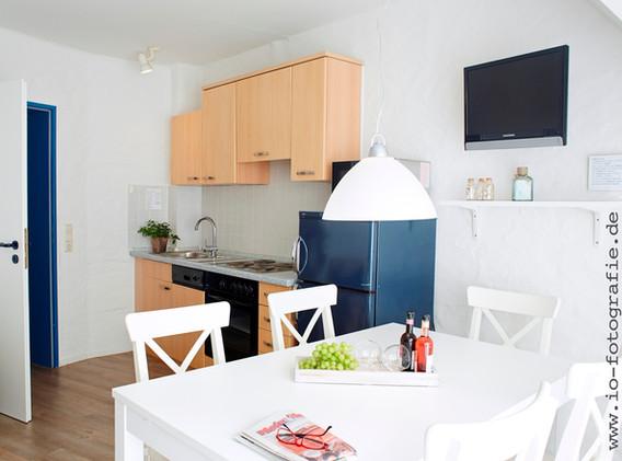 Küchenbereich mit Sitzgruppe