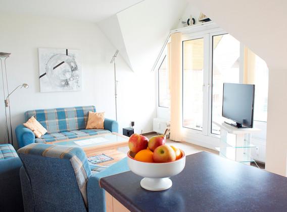 Wohnzimmer im Apartment A4