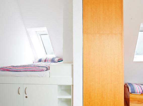 Schlafzimmer mit Kojenbett
