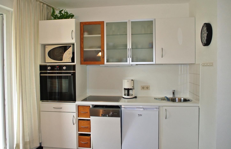 Küche mit Essbereich Apartment D5