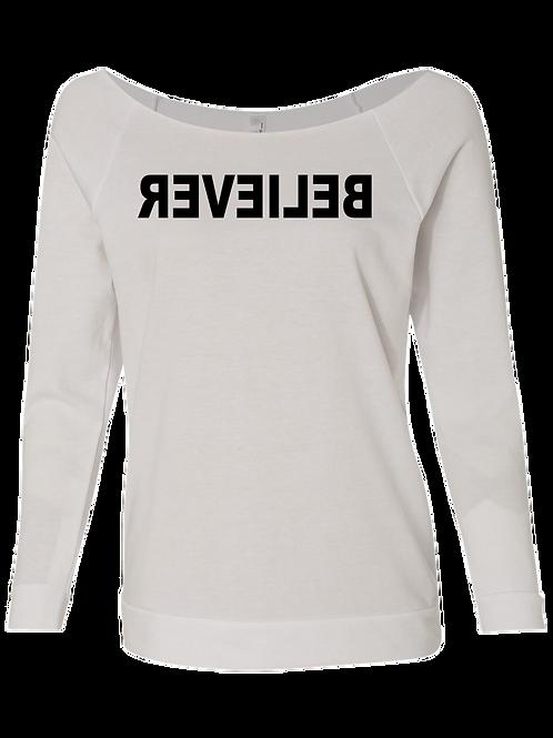 BELIEVER Raglan Sweatshirt