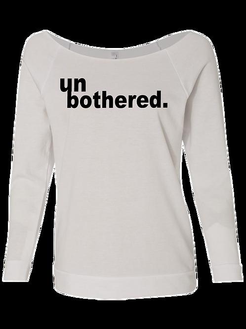 unbothered Raglan Sweatshirt