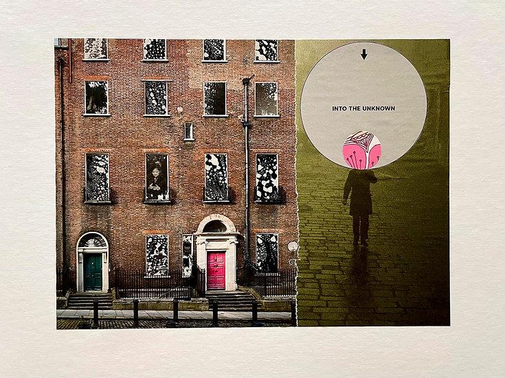 homebound - handmade collage