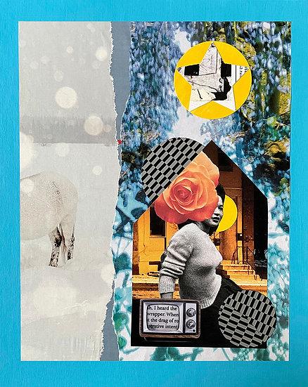 shelter - handmade collage