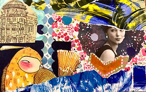 group collage by students