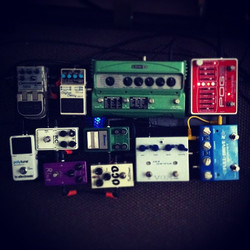 Instagram - pedalboard finished!!!