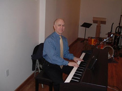 Playing at Sacred Center, NY