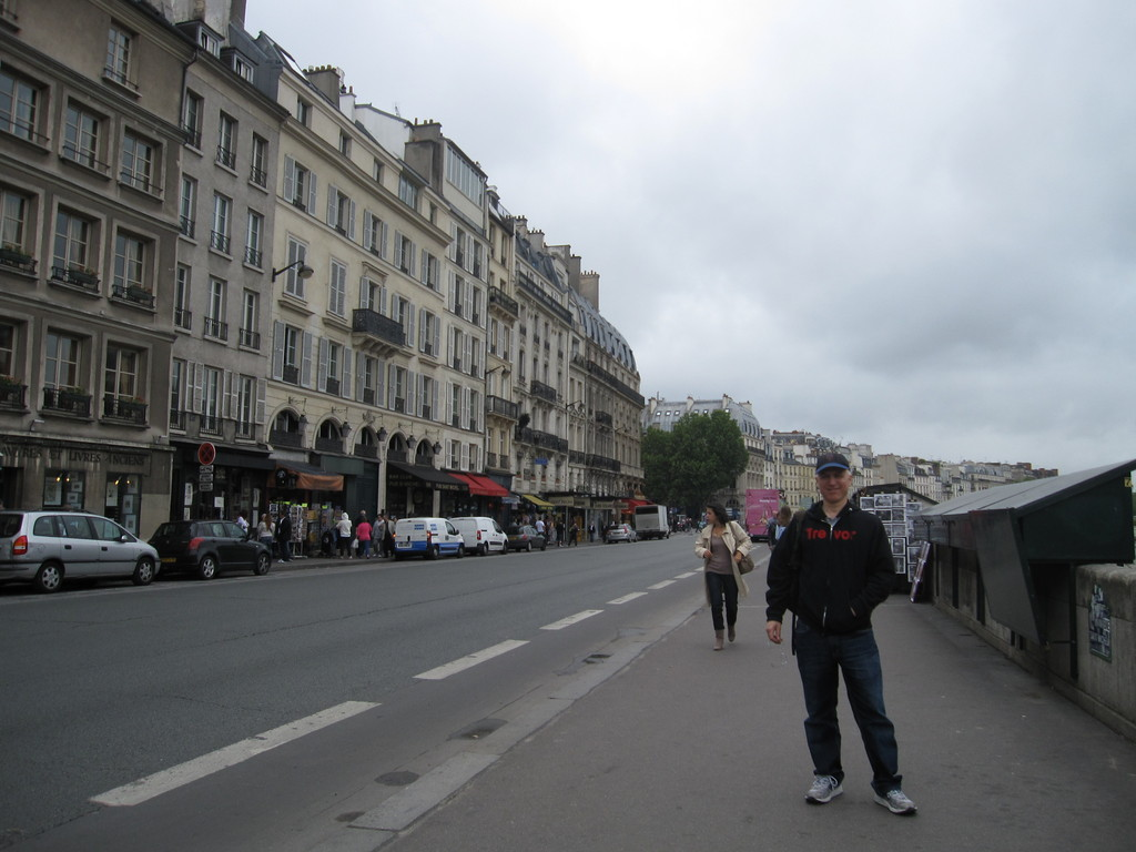 Hanging out in Paris