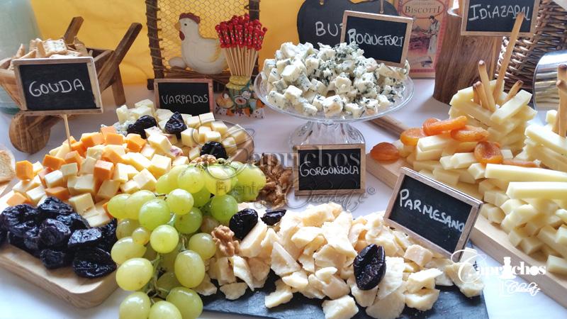 buffet de quesos 3