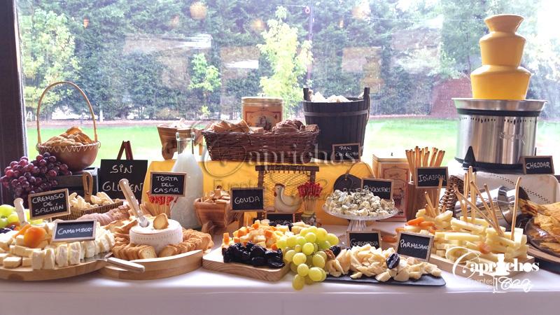 buffet de quesos 7