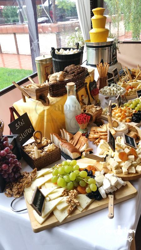 buffet de quesos 5