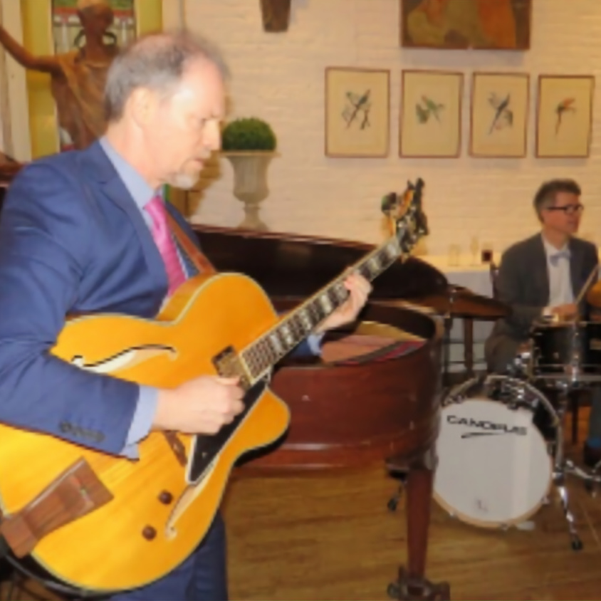 Greg Burrows with Carl Money Trio at Cibar on Irving Place—No cover charge