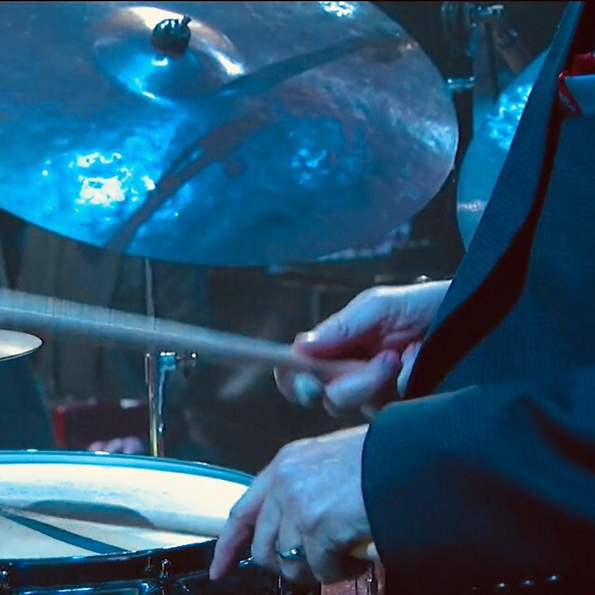 Greg on drums w/ Jim Neuman (organ) & Carl Money (guitar)