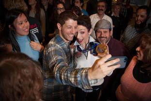 Olympian Meryl Davis-Selfie Moment, BBDO NY