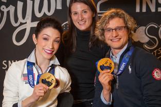 Olympians Meryl Davis and Charlie White, BBDO NY