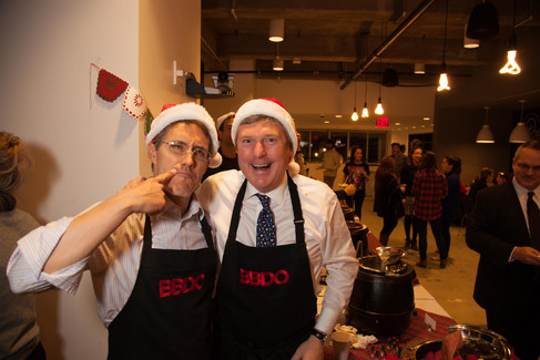Chili and Cheer Holiday Party, BBDO NY
