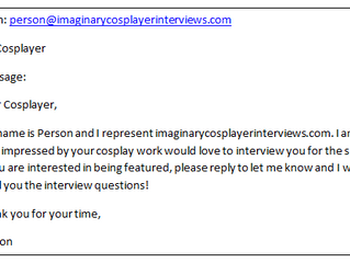 How to Interview a Cosplayer