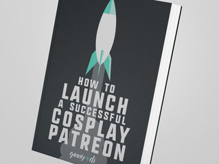 Book Review: How to Launch a Successful Cosplay Patreon by Ginny Di (e-book)