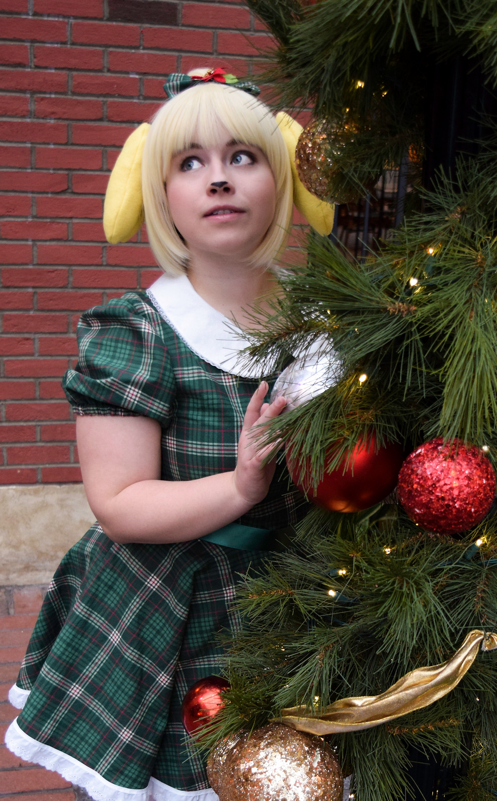 christmas isabelle cosplay