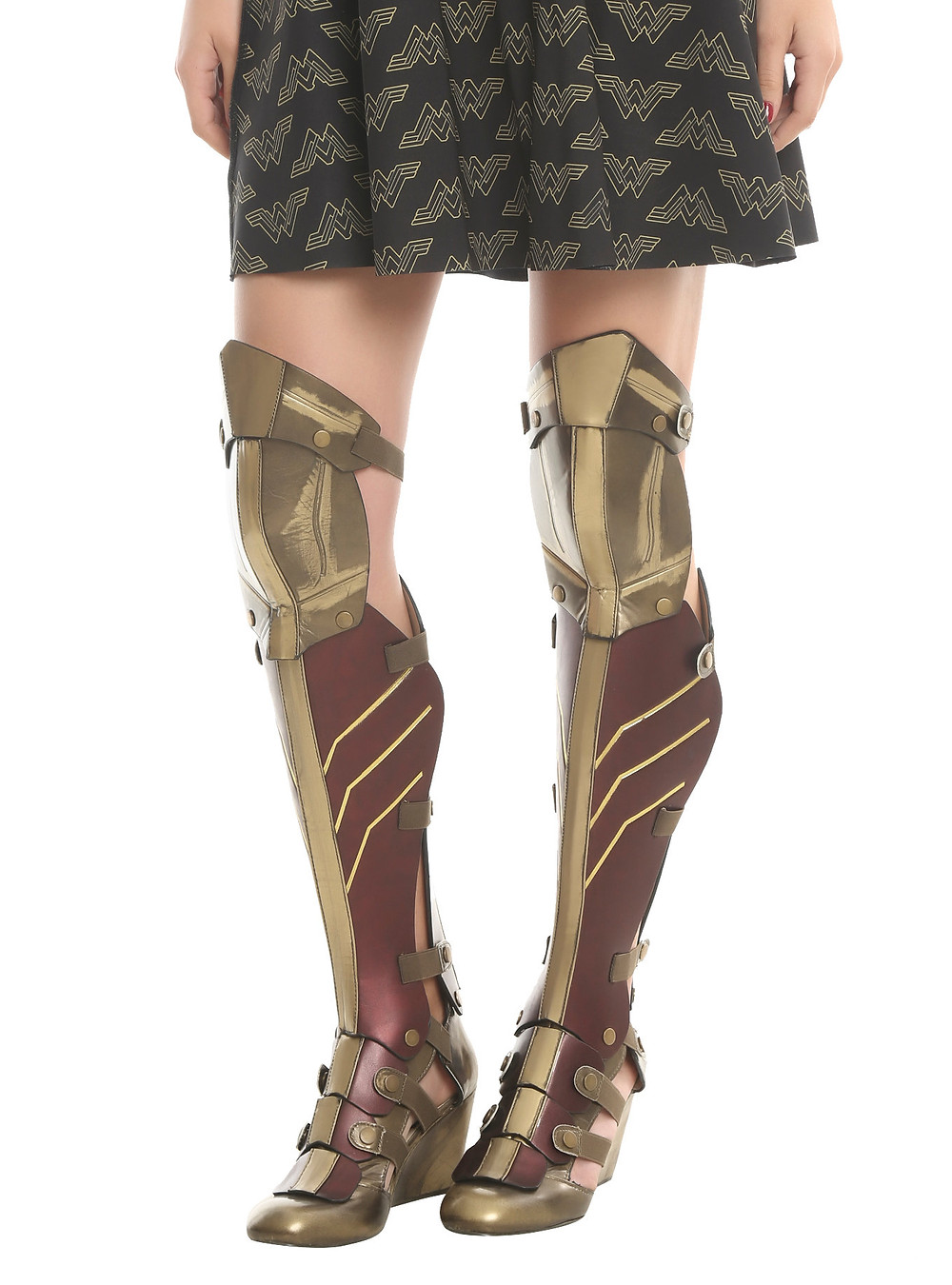 wonder woman cosplay shoes