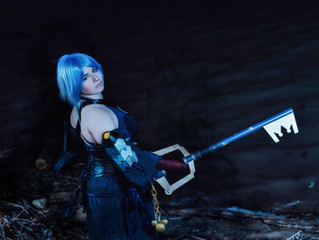 Kingdom Hearts 3 Aqua Cosplay Tutorial