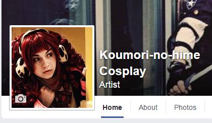 koumori no hime cosplay facebook