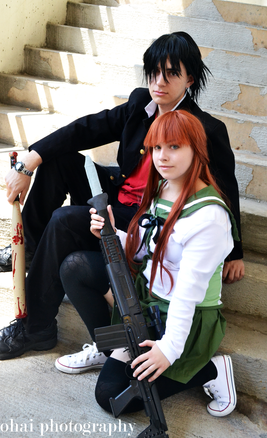 Rei Miyamoto- Highschool of the Dead