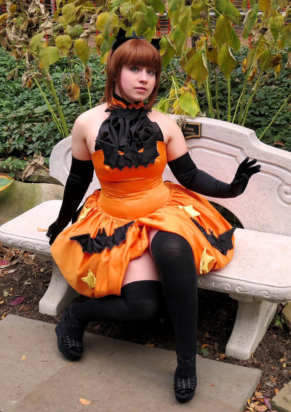 halloween sakura cosplay