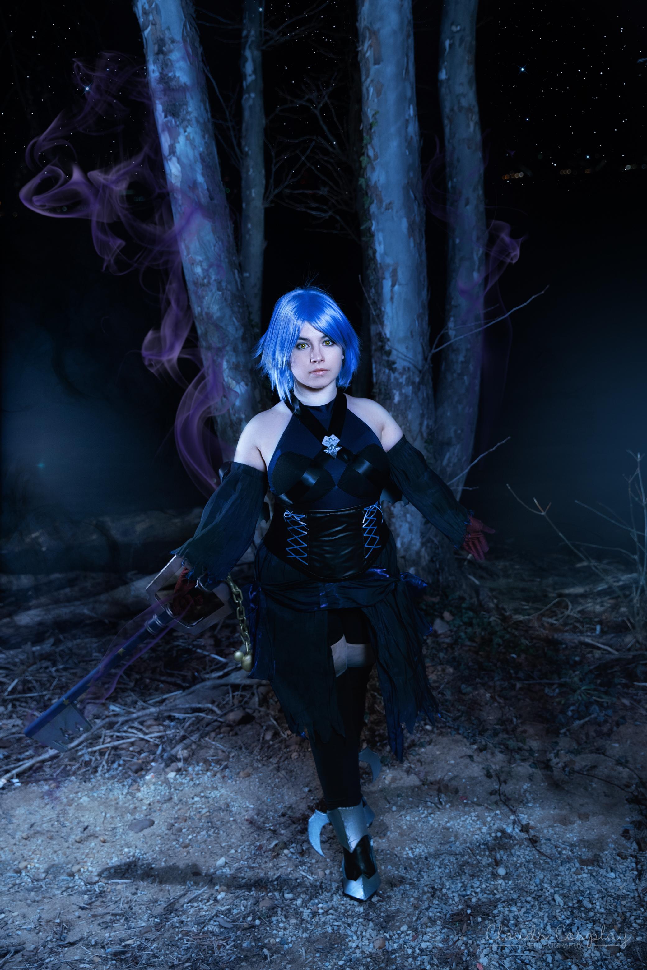 Aqua- Kingdom Hearts 3