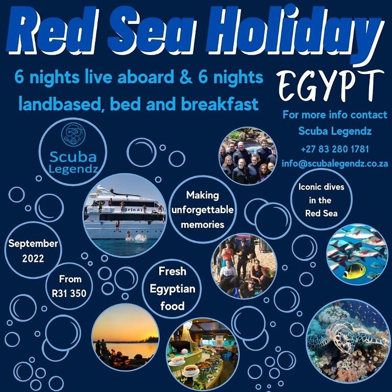 SCUBA LEGENDZ EGYPT 2022 HOLIDAY