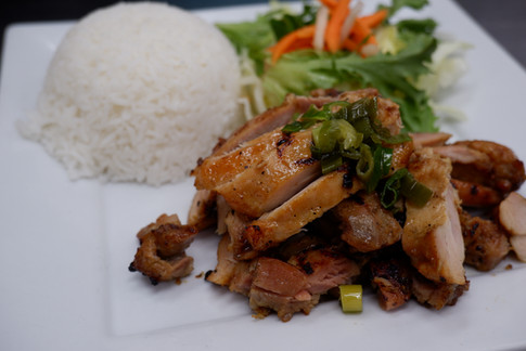 Grilled Chicken Rice Plate