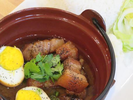 Pork Belly and Egg