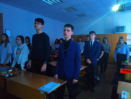 Час Мужества «Ленинградский метроном»