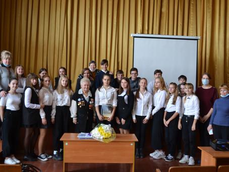 Мероприятие, посвященное  Дню Космических войск России, прошло в Гимназии №58