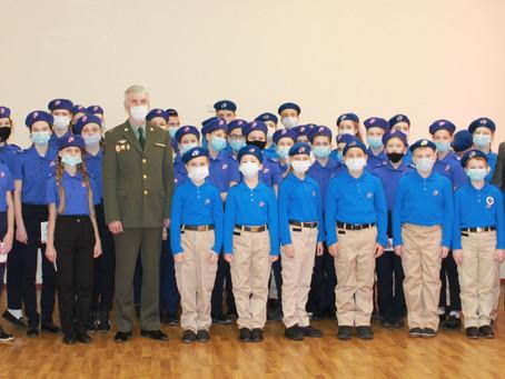 День Героев Отечества стал особым для энгельсских школьников