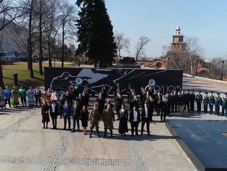 Нижний Новгород присоединился к народному песенному марафону «Наш День Победы»