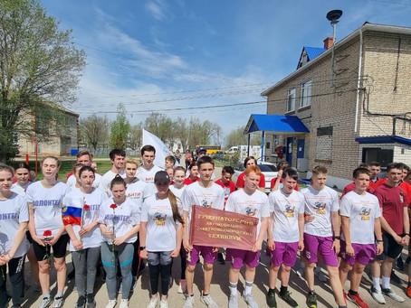 Балаковские студенты стали участниками патриотической акции «От обелиска к обелиску»
