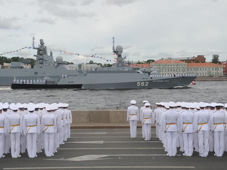 25 июля 2021 года – 325-летие Военно-морского флота России