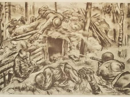 Стань участником II областного конкурса рисунков «Фронтовые зарисовки»