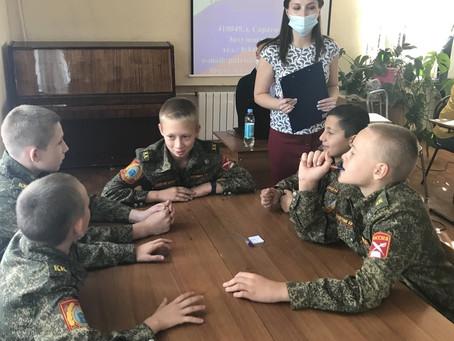 Кадеты состязались в знании песен о Великой Отечественной войне